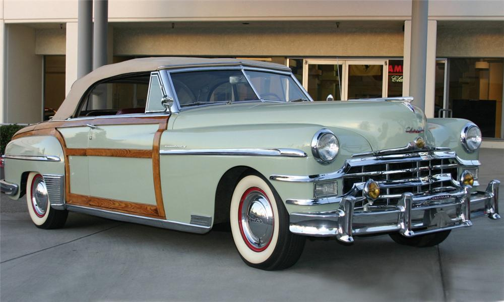 1949 CHRYSLER TOWN & COUNTRY CONVERTIBLE - Front 3/4 - 16308