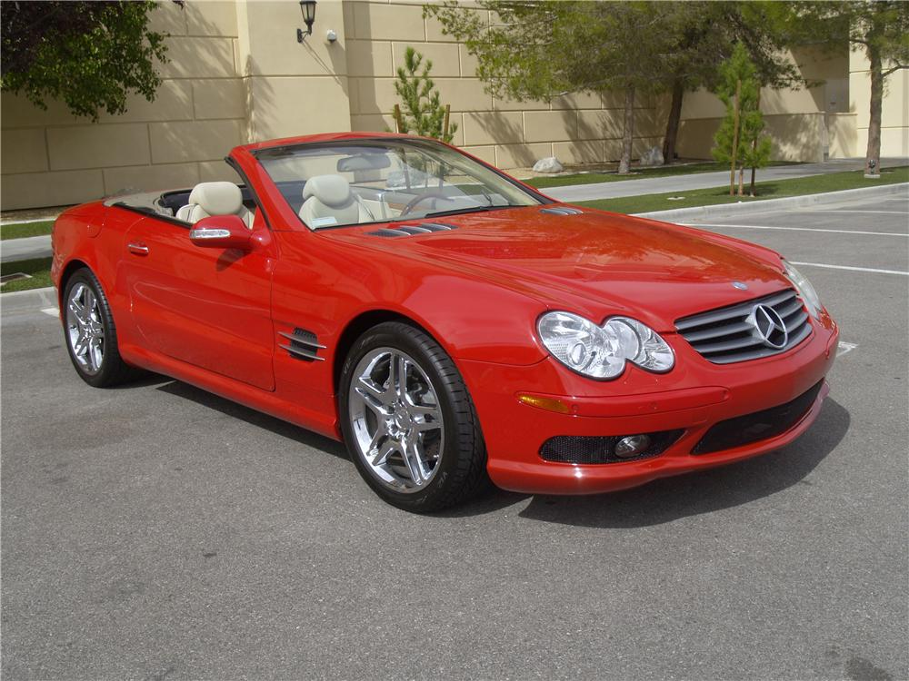 2003 MERCEDES-BENZ SL500 CONVERTIBLE - Front 3/4 - 163083