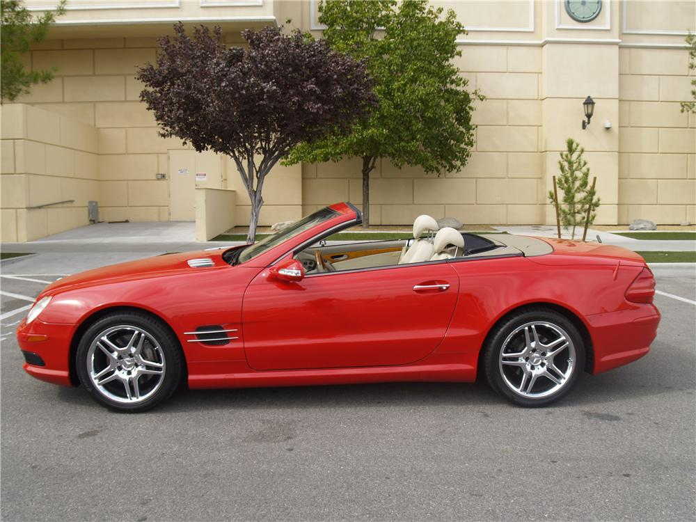 2003 mercedes benz sl500 convertible 163083 for Mercedes benz sl convertible
