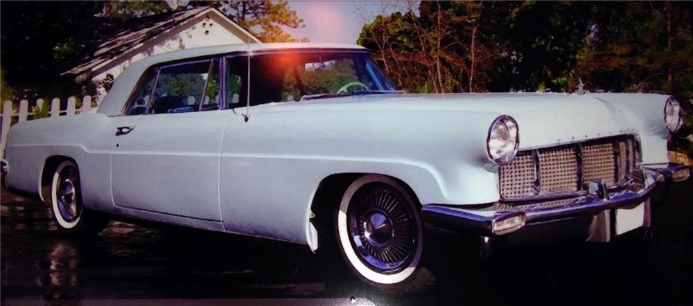 1956 LINCOLN CONTINENTAL MARK II  - Front 3/4 - 163102
