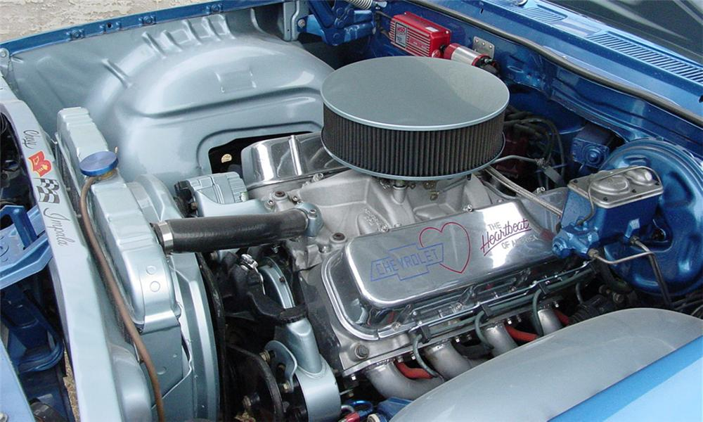 1961 CHEVROLET IMPALA BUBBLE TOP - Engine - 16314