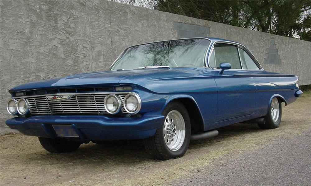 1961 CHEVROLET IMPALA BUBBLE TOP - Front 3/4 - 16314