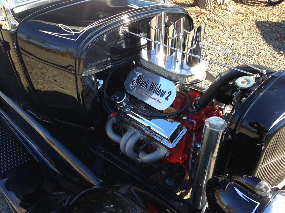 1928 FORD CUSTOM PICKUP - Engine - 163141