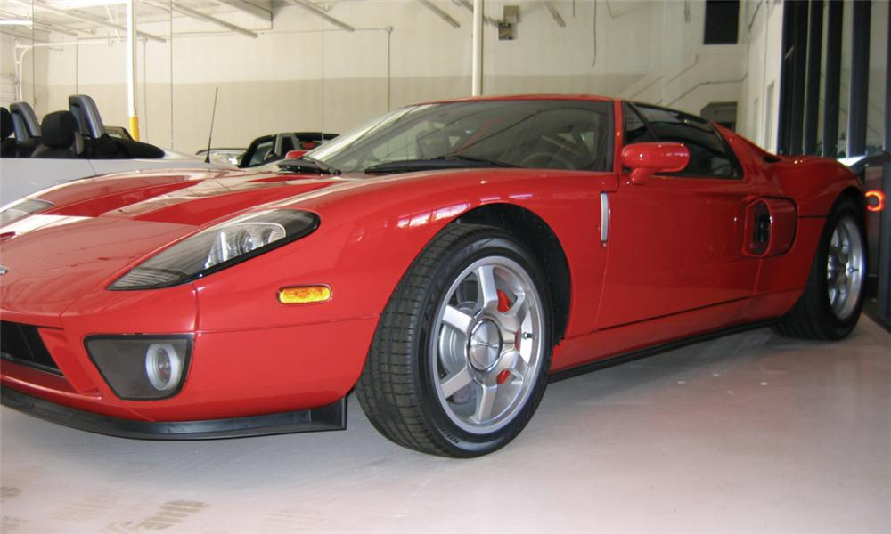 2005 FORD GT40 COUPE - Front 3/4 - 16316