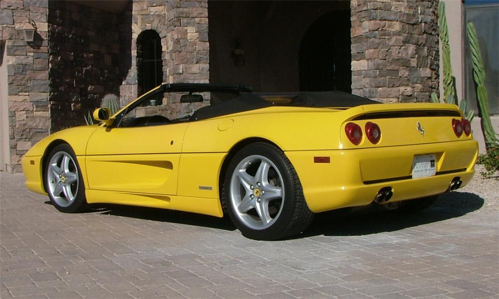 1995 FERRARI F-355 SPIDER - Rear 3/4 - 16318