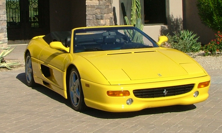 1995 FERRARI F-355 SPIDER - Side Profile - 16318
