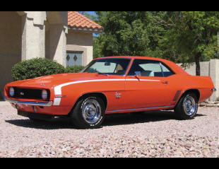 1969 CHEVROLET CAMARO SS 396 COUPE -  - 16321