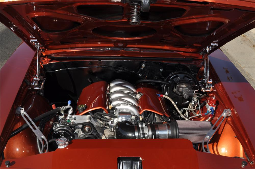 1969 CHEVROLET CAMARO SS CUSTOM COUPE - Engine - 163221
