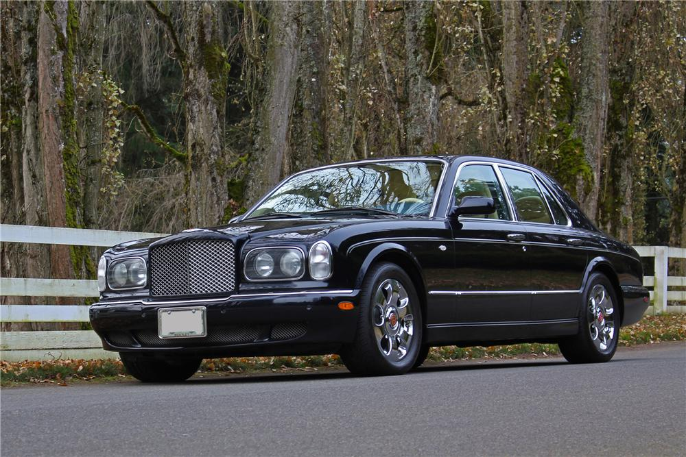 2000 bentley arnage red label 4 door sedan 163252. Black Bedroom Furniture Sets. Home Design Ideas