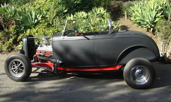 1932 FORD HOT ROD ROADSTER - Side Profile - 16332