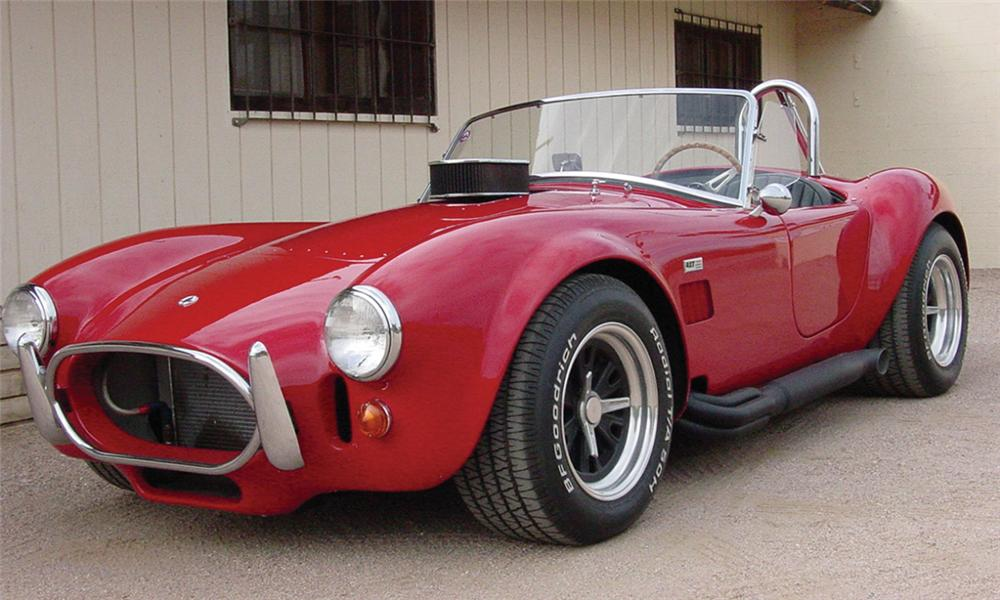 1965 SHELBY COBRA RE-CREATION ROADSTER - Front 3/4 - 16334