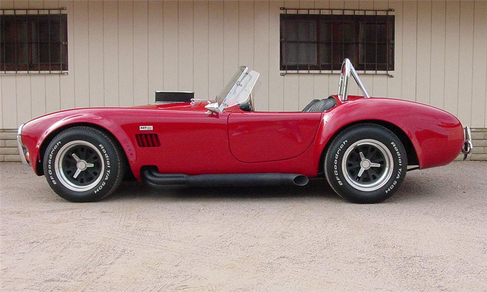 1965 SHELBY COBRA RE-CREATION ROADSTER - Side Profile - 16334