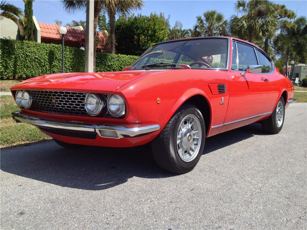 1967 FIAT DINO COUPE - Front 3/4 - 163369