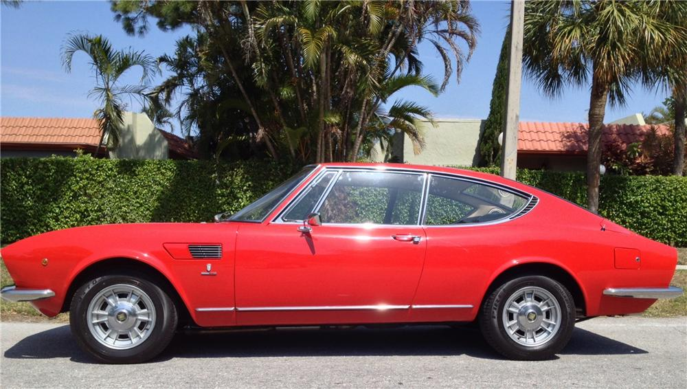 1967 FIAT DINO COUPE - Side Profile - 163369
