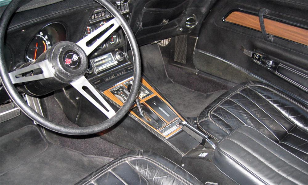 1971 CHEVROLET CORVETTE COUPE - Interior - 16337
