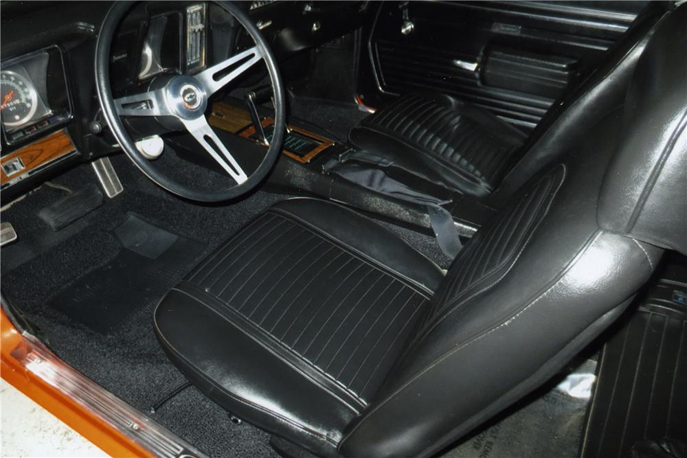 1969 CHEVROLET CAMARO SS CUSTOM COUPE - Interior - 163372