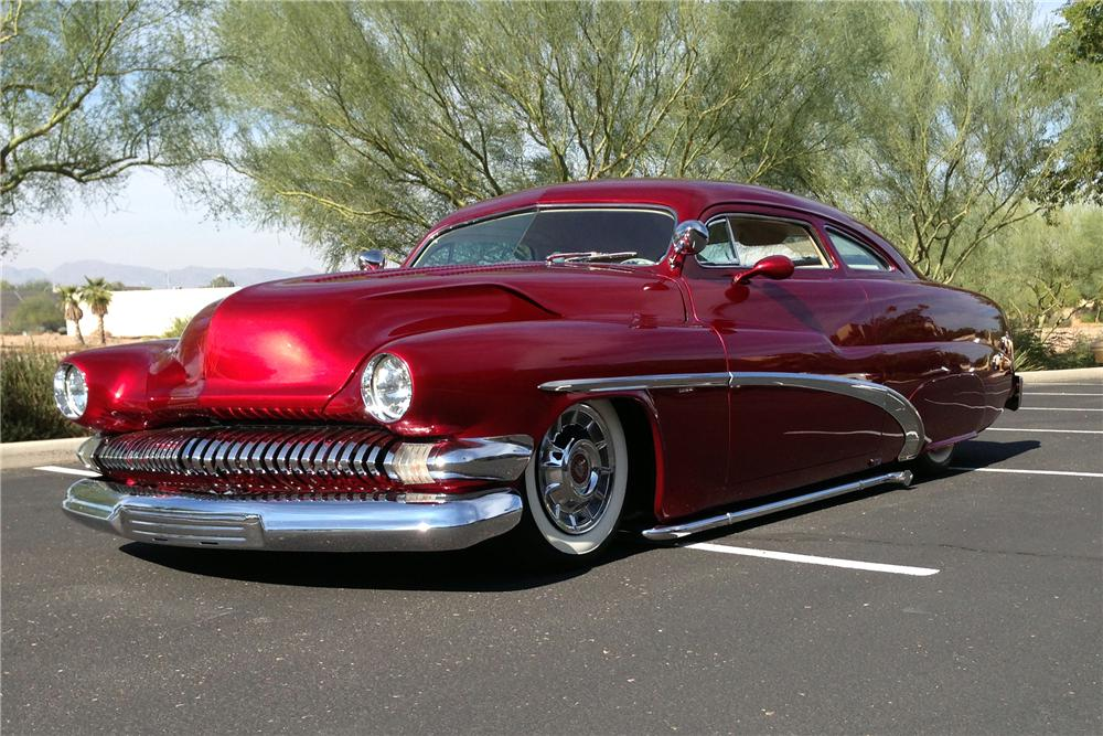 1951 MERCURY CUSTOM COUPE - Front 3/4 - 163382