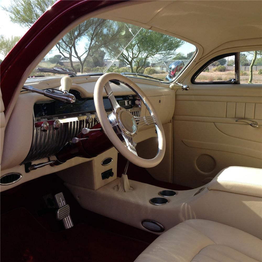 1951 MERCURY CUSTOM COUPE - Interior - 163382