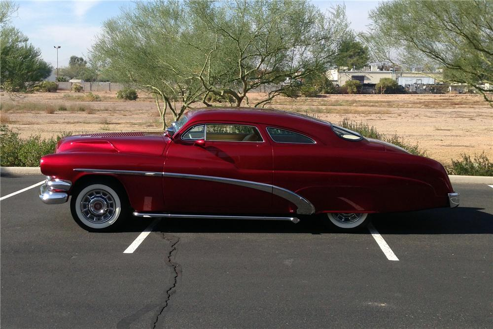 1951 MERCURY CUSTOM COUPE - Side Profile - 163382