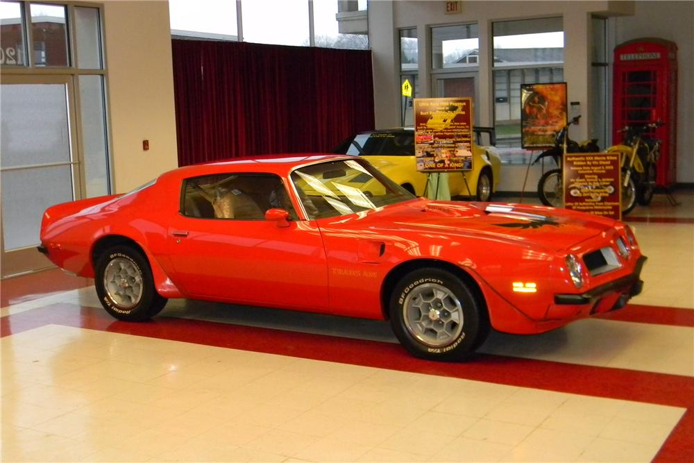 1974 PONTIAC FIREBIRD TRANS AM SD 2 DOOR COUPE - Side Profile - 163386