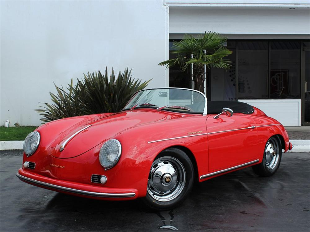 Porsche Las Vegas >> 1957 PORSCHE 356 SPEEDSTER RE-CREATION
