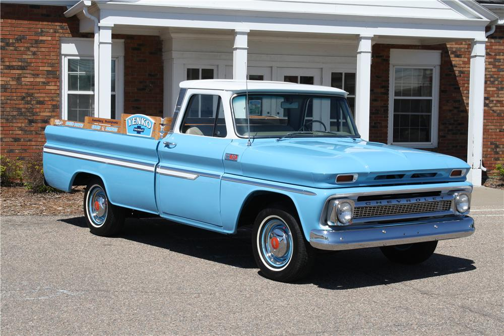 1965 CHEVROLET C-10 PICKUP - Front 3/4 - 163389
