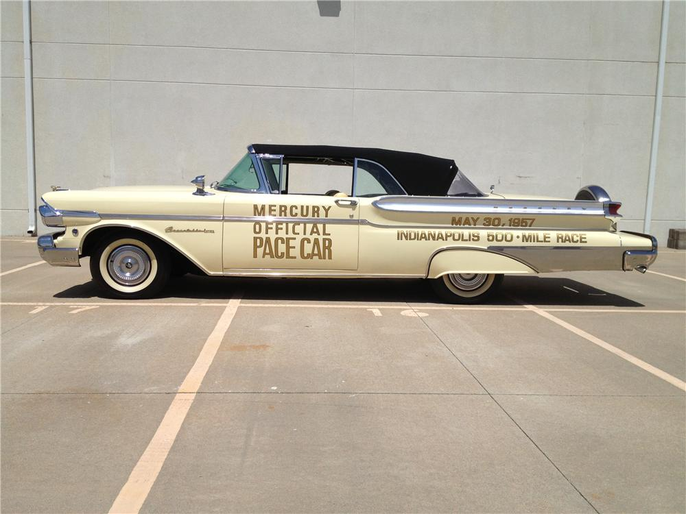 1957 MERCURY TURNPIKE CRUISER CONVERTIBLE PACE CAR - Side Profile - 163398