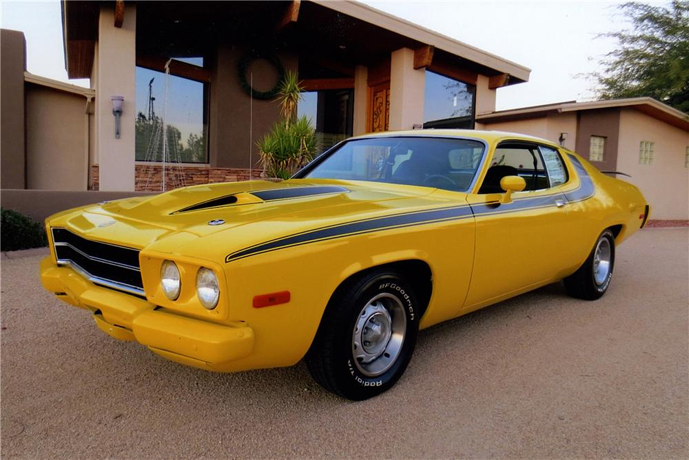 1974 PLYMOUTH ROAD RUNNER 2 DOOR COUPE - Engine - 163401