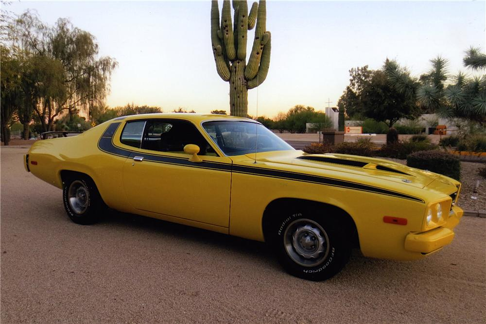 1974 PLYMOUTH ROAD RUNNER 2 DOOR COUPE - Side Profile - 163401