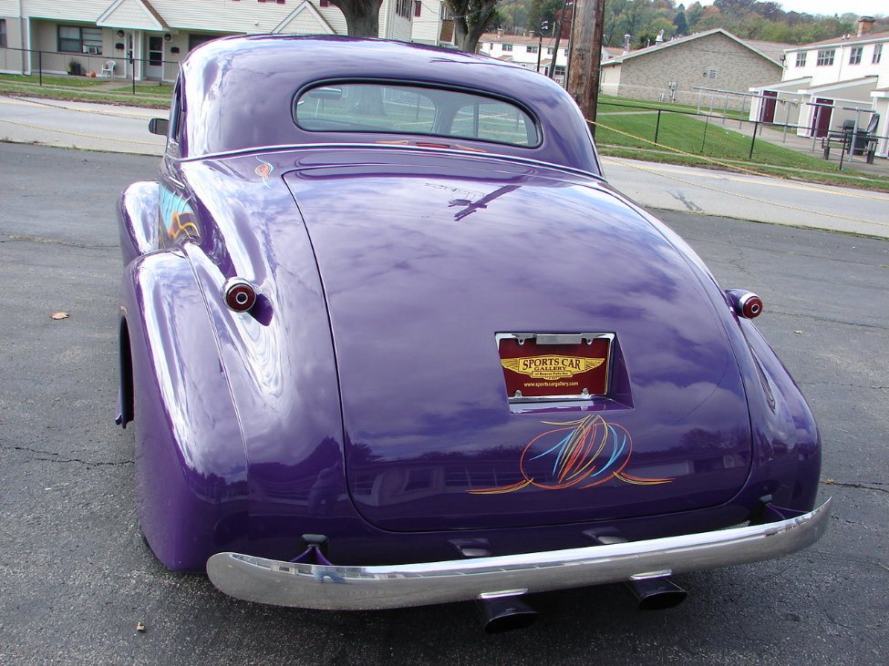 1939 CHEVROLET STREET ROD CUSTOM COUPE - Rear 3/4 - 163402