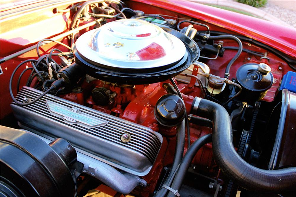1955 FORD THUNDERBIRD CONVERTIBLE - Engine - 163406