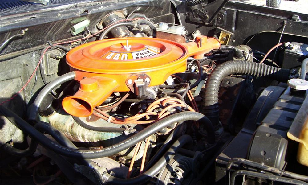 1977 DODGE POWER WAGON PICKUP - Engine - 16341