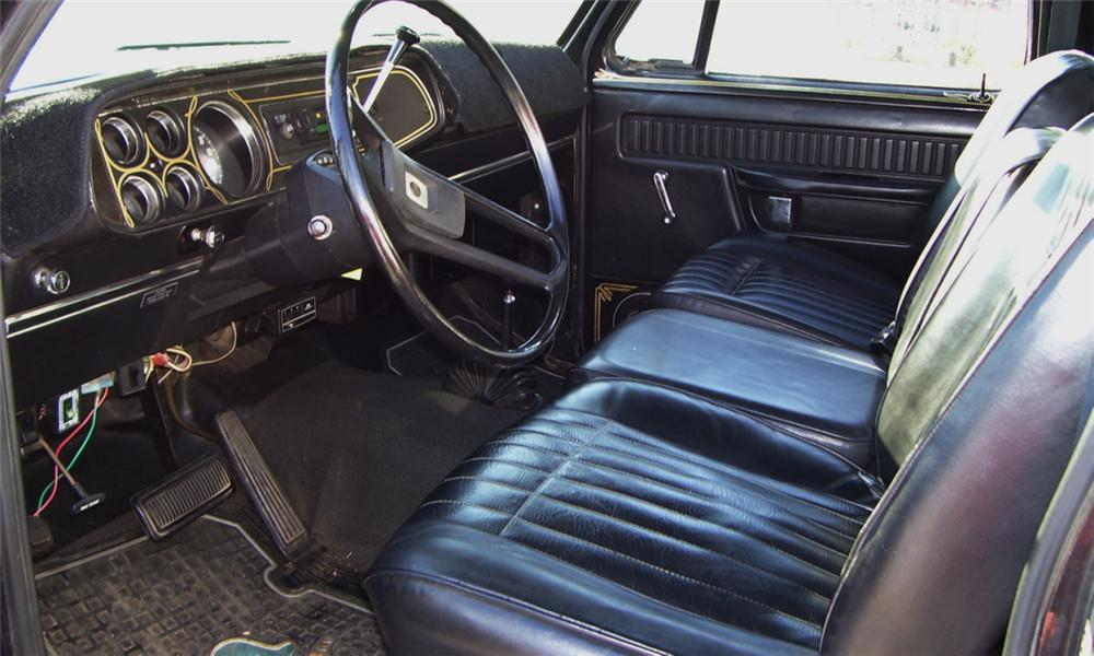 Interior Web on 1977 Dodge Power Wagon Dash
