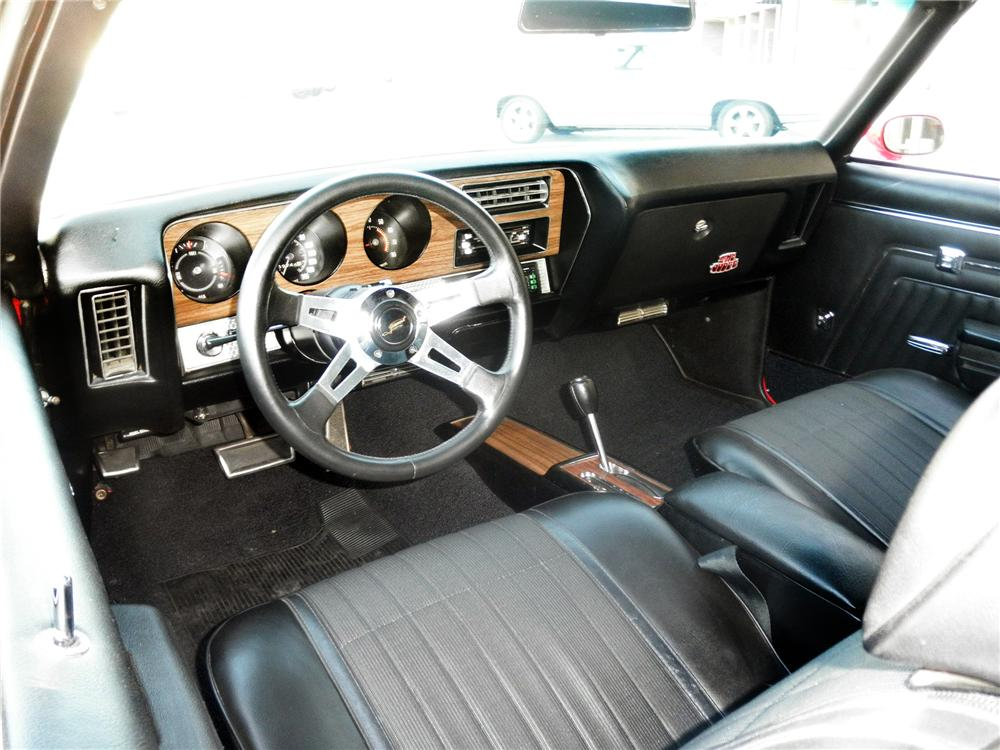 1970 PONTIAC LEMANS CUSTOM CONVERTIBLE - Interior - 163410