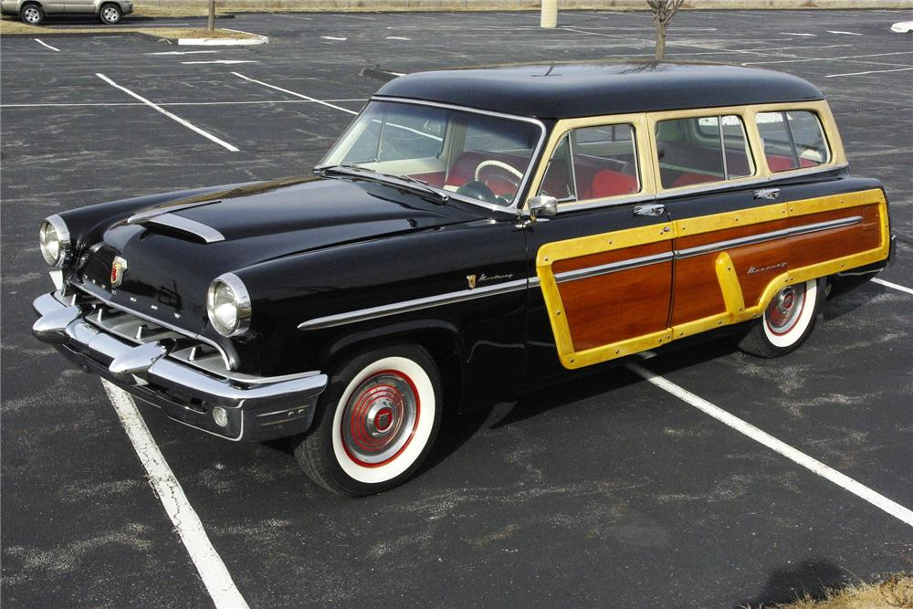 1953 MERCURY MONTEREY WOODY WAGON - Side Profile - 163436