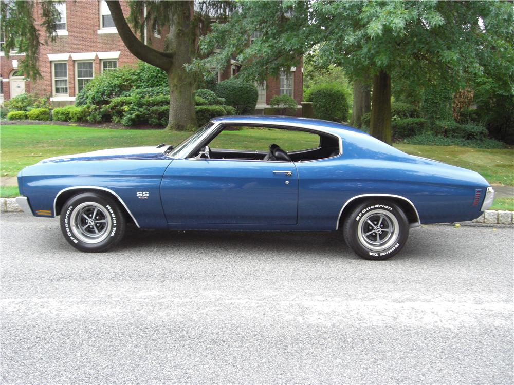 1970 chevrolet chevelle ss ls6 coupe 163437. Black Bedroom Furniture Sets. Home Design Ideas