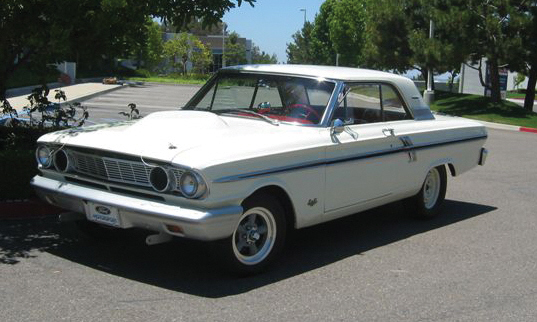 1964 FORD FAIRLANE THUNDERBOLT RE-CREATION - Front 3/4 - 16347