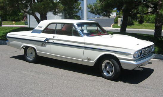 1964 FORD FAIRLANE THUNDERBOLT RE-CREATION - Side Profile - 16347
