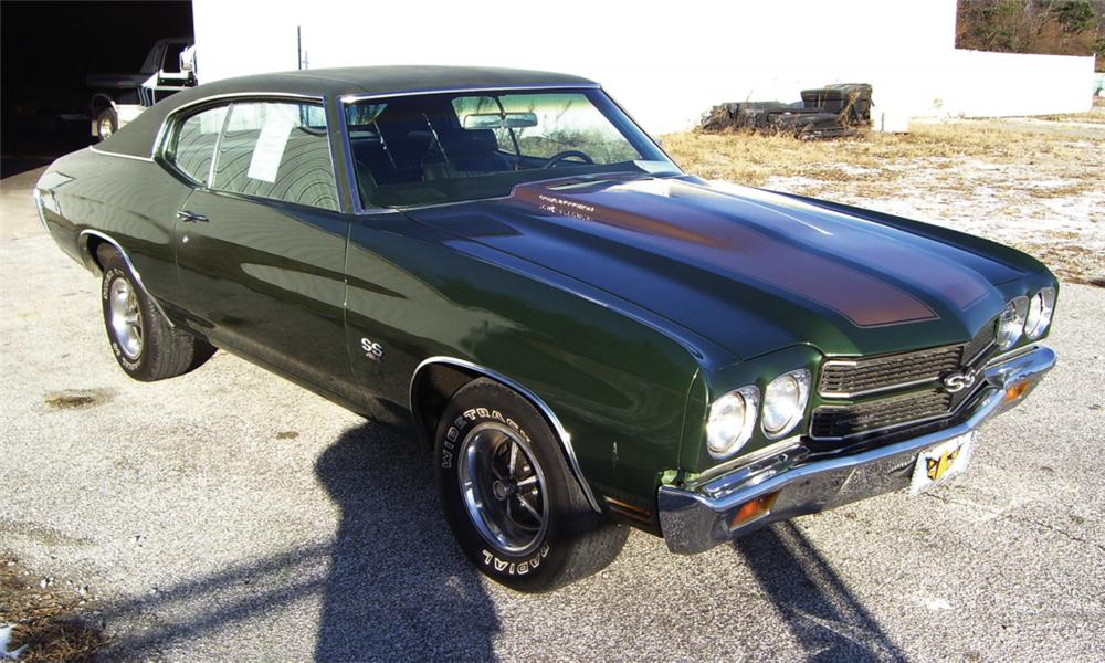 1970 CHEVROLET CHEVELLE SS COUPE - Front 3/4 - 16350
