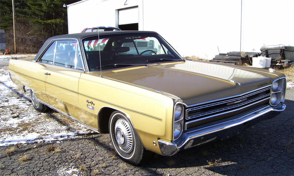 1968 PLYMOUTH SPORT FURY 2 DOOR HARDTOP - Front 3/4 - 16353