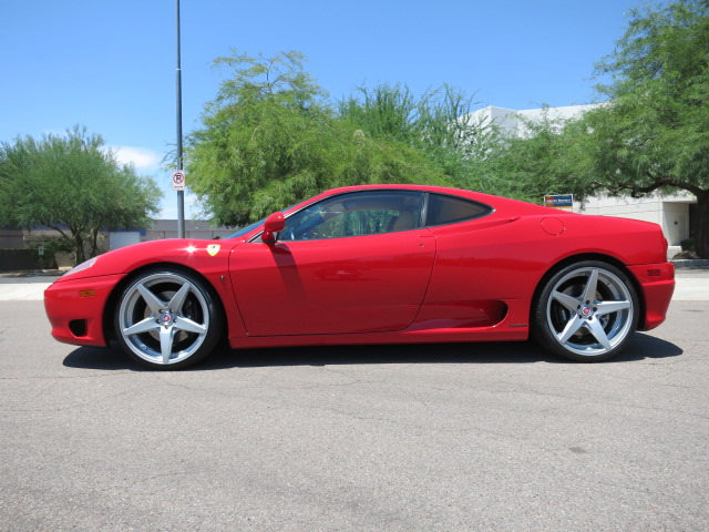 2000 FERRARI 360 MODENA 2 DOOR COUPE - Side Profile - 164893