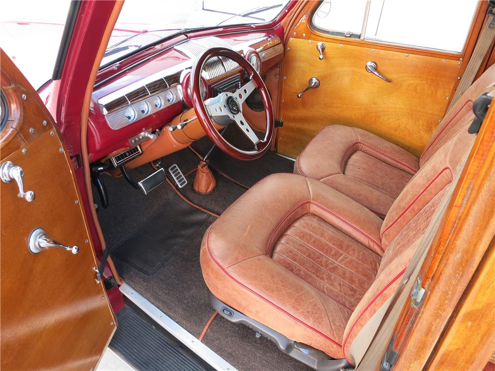 1947 FORD SUPER DELUXE CUSTOM WOODY WAGON - Interior - 165473
