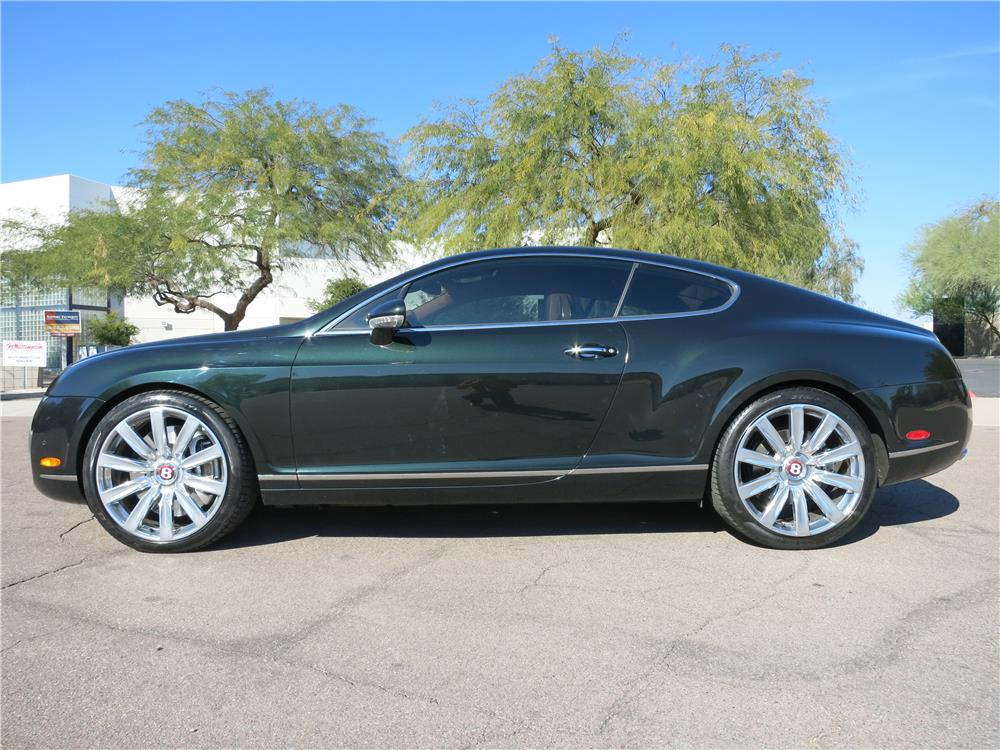 2006 bentley continental gt 2 door coupe side profile 165475. Cars Review. Best American Auto & Cars Review