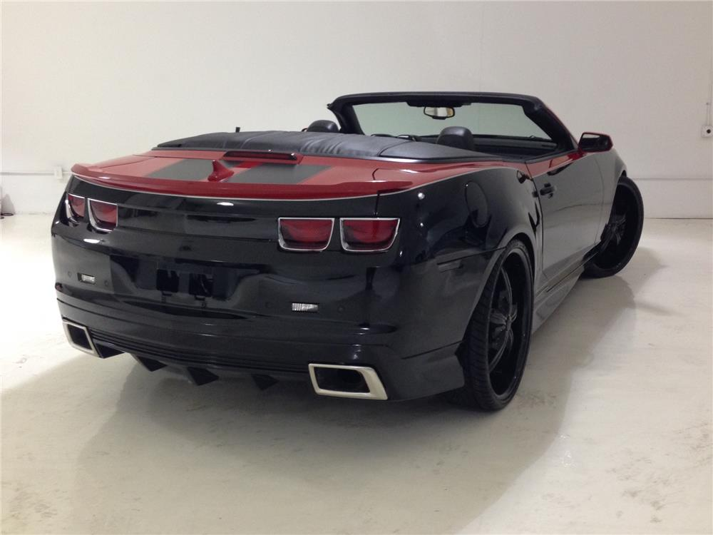 2011 CHEVROLET CAMARO CONVERTIBLE - Rear 3/4 - 166196