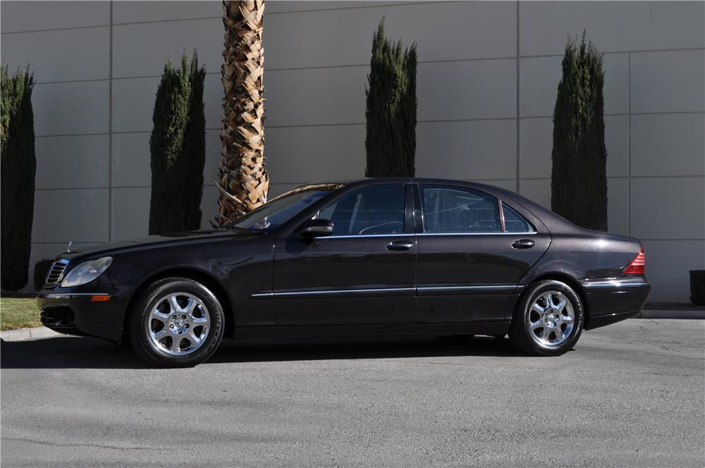 2001 mercedes benz s430 4 door sedan 166954. Black Bedroom Furniture Sets. Home Design Ideas