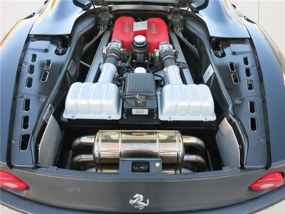 2003 FERRARI 360 MODENA CONVERTIBLE - Engine - 168054