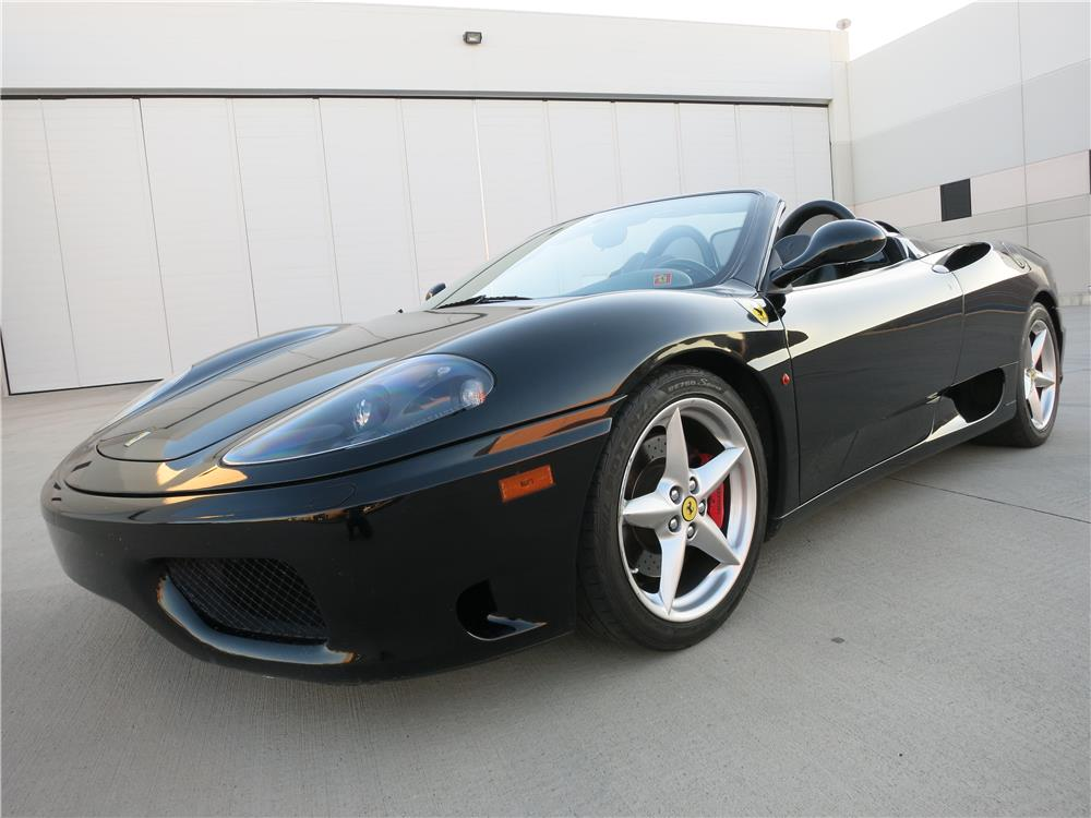 2003 ferrari 360 modena convertible 168054. Black Bedroom Furniture Sets. Home Design Ideas