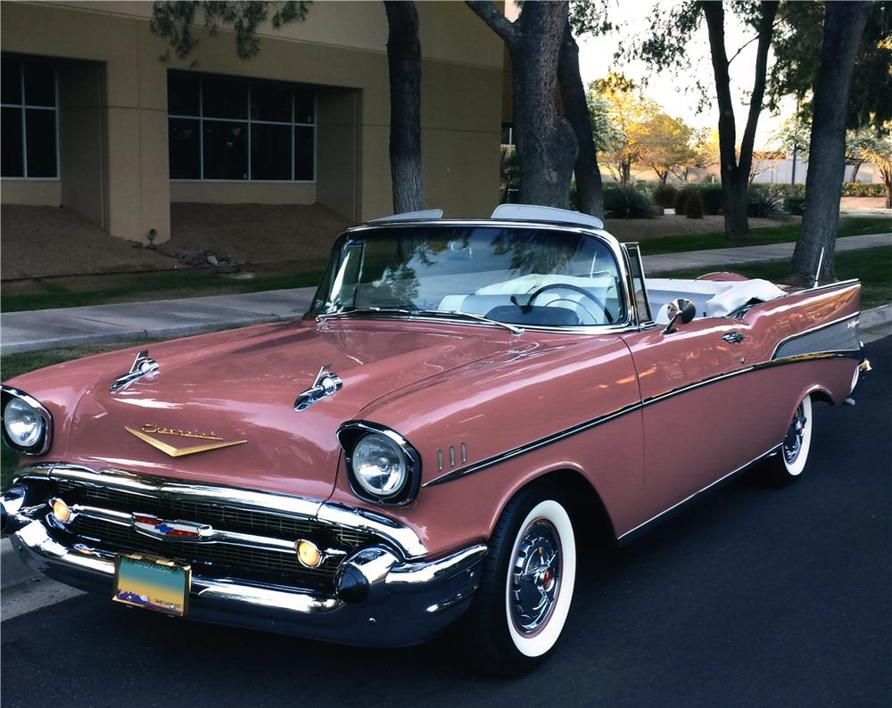 Bel Air Auto Auction >> 1957 CHEVROLET BEL AIR CUSTOM CONVERTIBLE - 170013