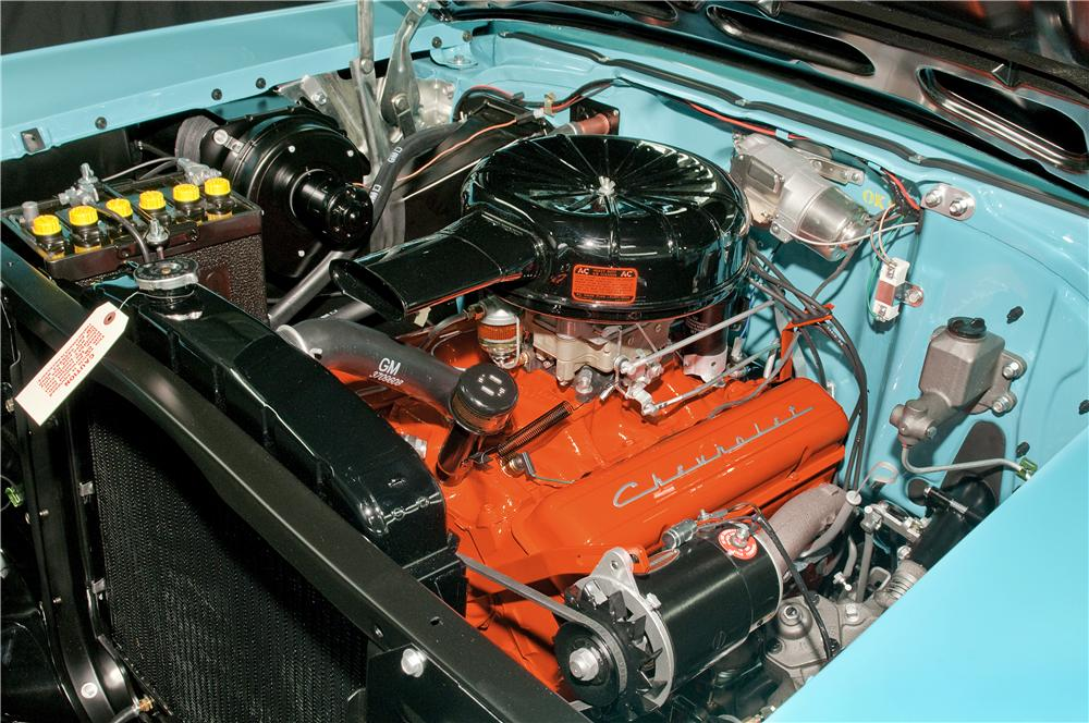 1957 CHEVROLET BEL AIR CONVERTIBLE - Engine - 170018