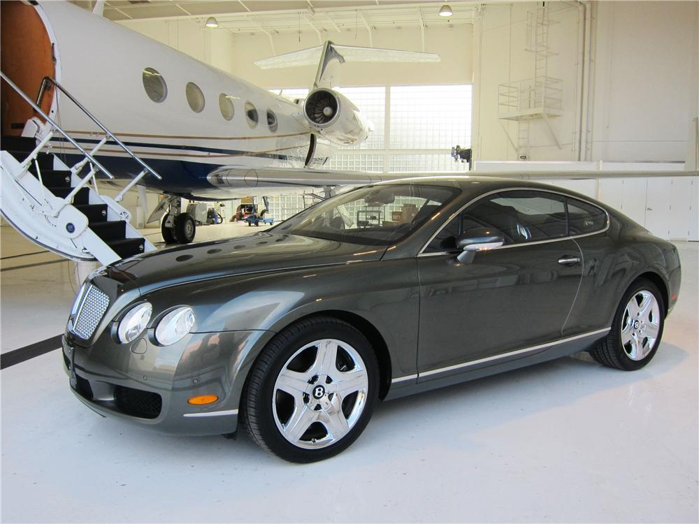 2005 BENTLEY CONTINENTAL GT 2 DOOR COUPE - Front 3/4 - 170020